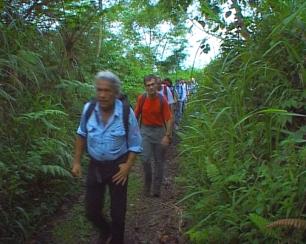 un film documentaire : Guyane : le paradis vert