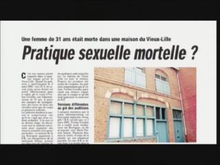 un film documentaire : La luxure : l'affaire Yveline Grenthe