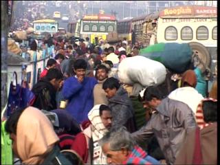 un film documentaire : Sur la route du Gange